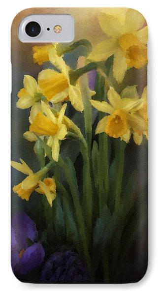 I Believe - Flower Art Phone Case by Jordan Blackstone