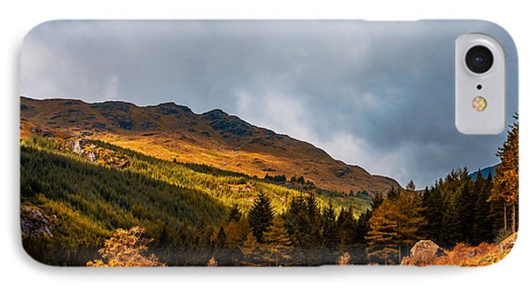 I Cant Forget This Light. Scotland Phone Case by Jenny Rainbow