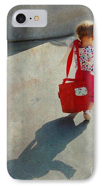 I Go To Work Like Momma Phone Case by Laura Sapko