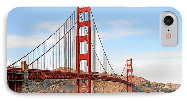 I Guard The California Shore - Golden Gate Bridge San Francisco Ca IPhone Case