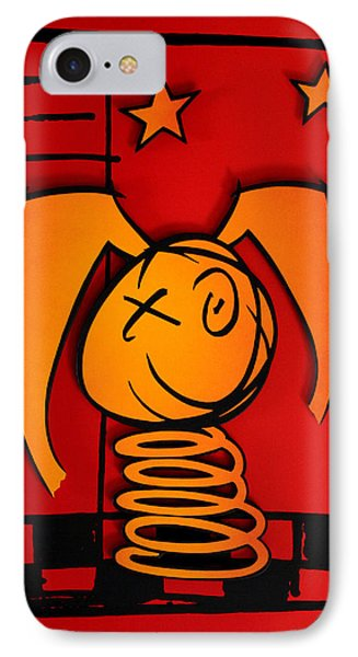 I Had A Mad Hare Playing Chess Or Psycho Rabbit - You Choose IPhone Case
