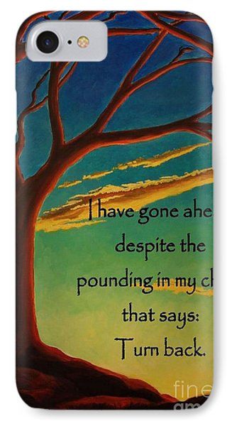 IPhone Case featuring the digital art I Have Gone Ahead by Janet McDonald