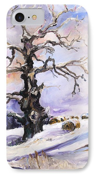 I Have Got Stories To Tell Old Oak Tree In Mecklenburg Germany Phone Case by Barbara Pommerenke