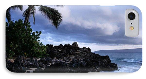 I Ke Kai Hawanawana Eia Kuu Lei Aloha - Paako Beach Maui Hawaii IPhone Case
