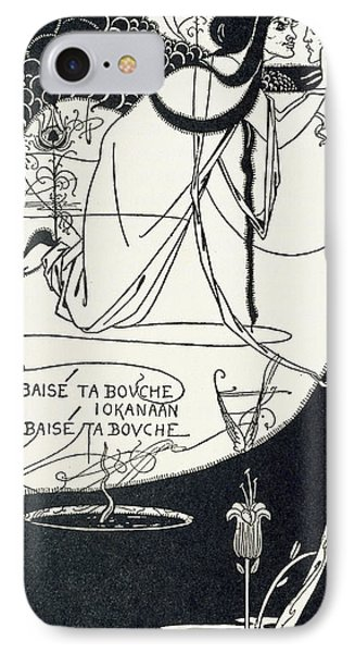 I Kissed Your Mouth IPhone Case by Aubrey Beardsley