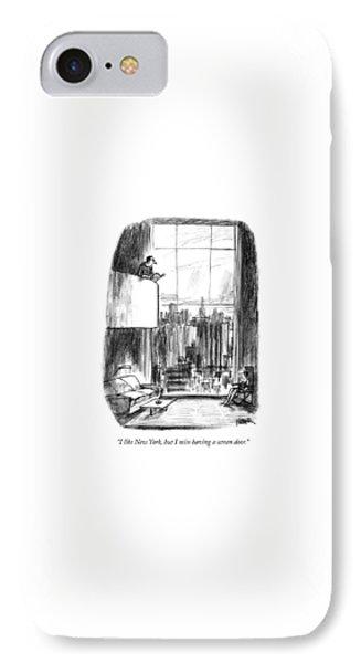 I Like New York IPhone Case by Robert Weber