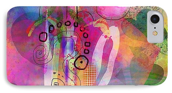 I Love Color, Does It Show IPhone Case by Robin Mead