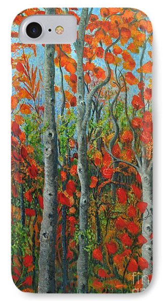 I Love Fall IPhone Case by Holly Carmichael