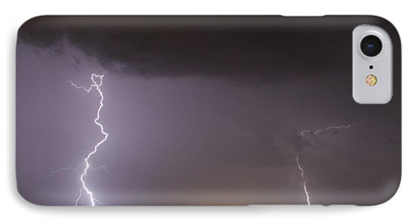 I Love Lightning IPhone Case by John Crothers
