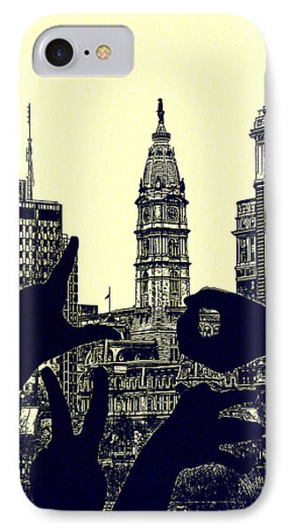 I Love Philly Phone Case by Bill Cannon