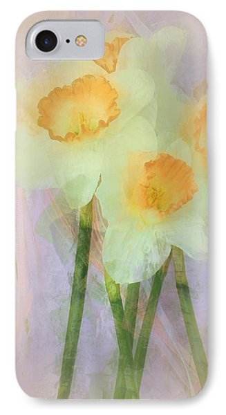I Love The Daffodils... IPhone Case