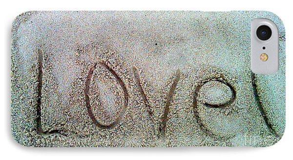I Love U IPhone Case by Janice Westerberg
