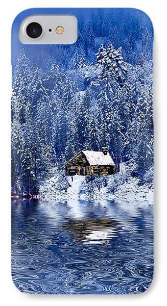 I Loved You In Winter IPhone Case by Diane Schuster