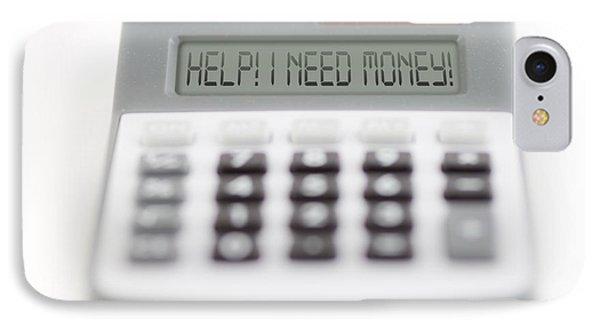 I Need Money Phone Case by Michal Boubin