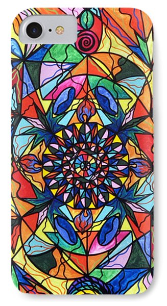 I Now Show My Unique Self Phone Case by Teal Eye  Print Store