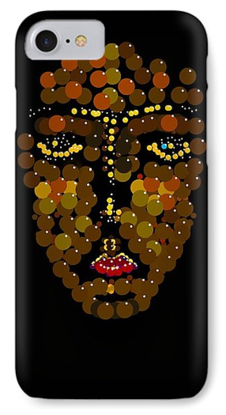 I Phone Face IPhone Case by R  Allen Swezey