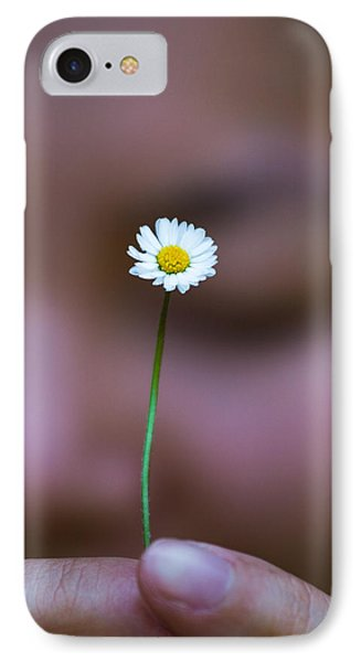 I Praise Thee Daisy Phone Case by Mike Lee
