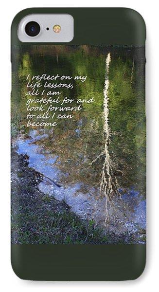 I Reflect IPhone Case by Patrice Zinck