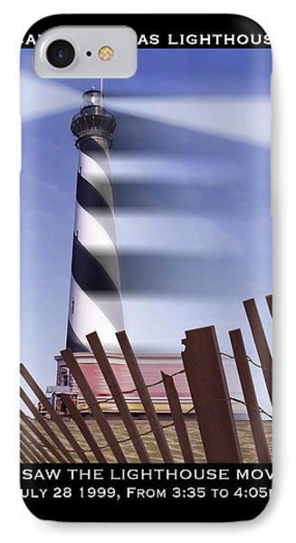 I Saw The Lighthouse Move Phone Case by Mike McGlothlen