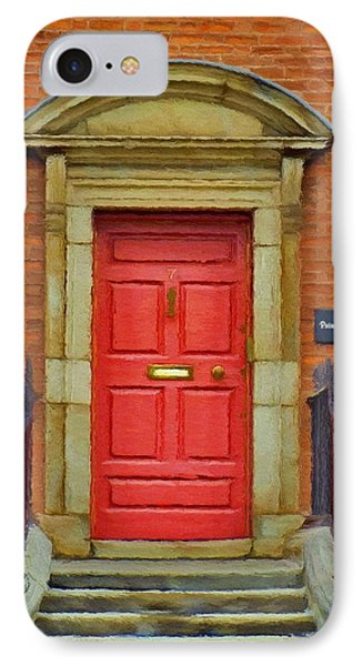I See A Red Door Phone Case by Jeff Kolker
