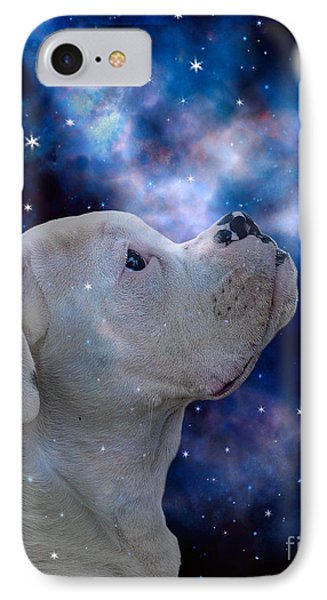 I See The Moon Phone Case by Judy Wood