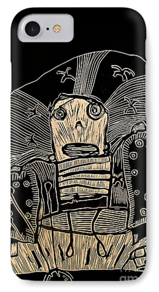I Think It Thinks I Dont Think IPhone Case by Charlie Spear