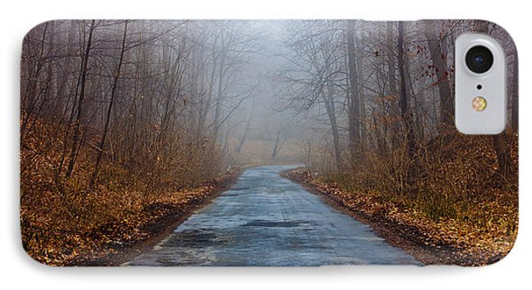 I Walk A Lonely Road IPhone Case by Pati Photography