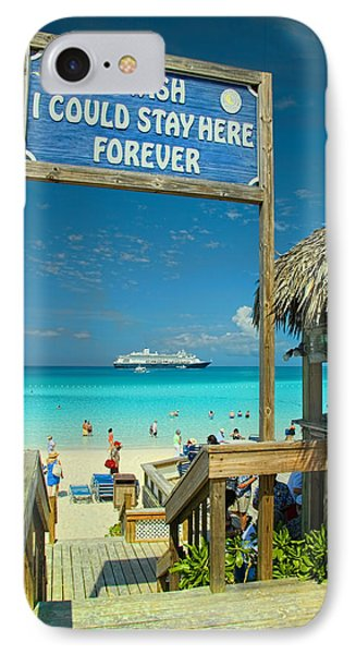 I Wish I Could Stay Here Forever IPhone Case by David Smith