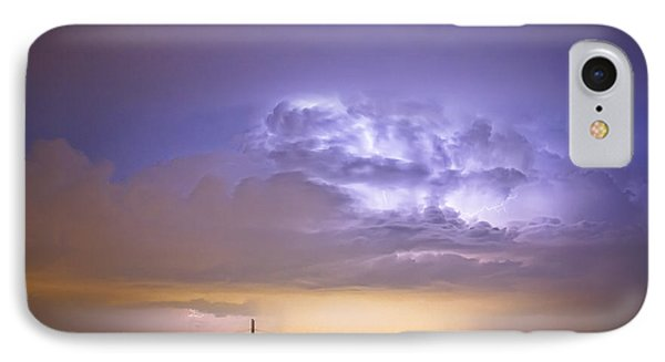 I25 Intra-cloud Lightning Strikes Phone Case by James BO  Insogna