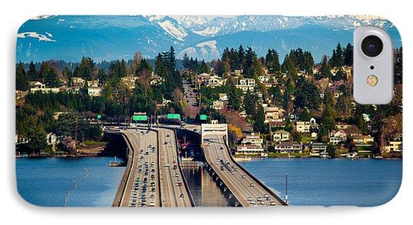 I90 Bridge IPhone Case by Inge Johnsson
