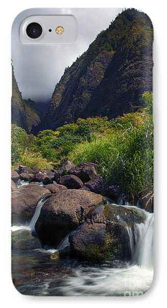 Iao  Storm Phone Case by Mike  Dawson