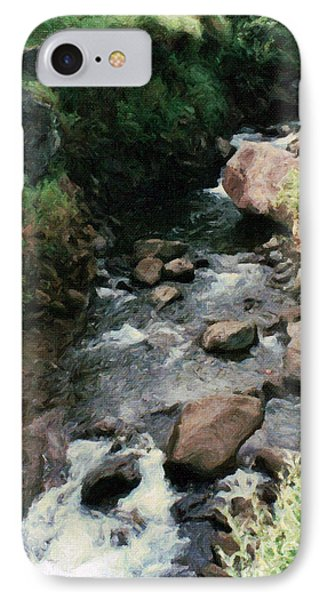 Rocky Stream In Iao Valley IPhone Case
