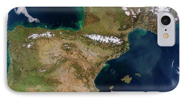 Iberian Peninsula IPhone Case