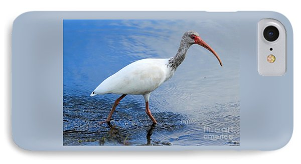 Ibis Visitor IPhone 7 Case by Carol Groenen