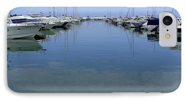 Ibiza Harbour IPhone Case