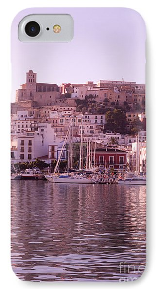 Ibiza Old Town In Early Morning Light IPhone Case by Rosemary Calvert