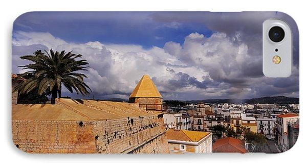 Ibiza Town Walls IPhone Case by Karol Kozlowski