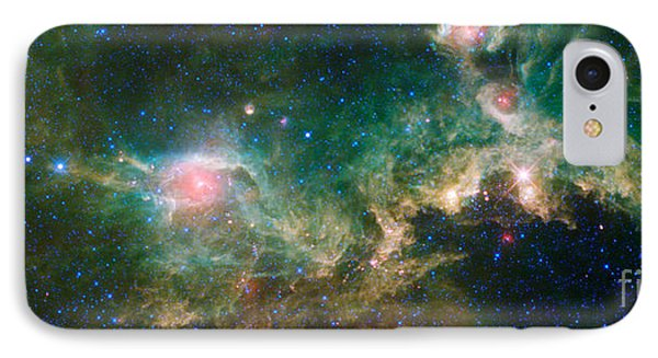 Ic 2177-seagull Nebula Phone Case by Science Source