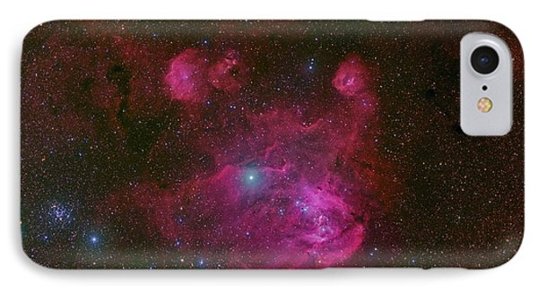 Ic 2944, A Large H II Region Phone Case by Robert Gendler