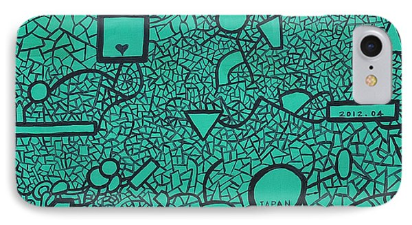 Ic By Taikan IPhone Case by Taikan Nishimoto