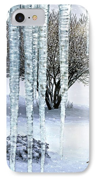 Ice Capades IPhone Case by Doug Kreuger