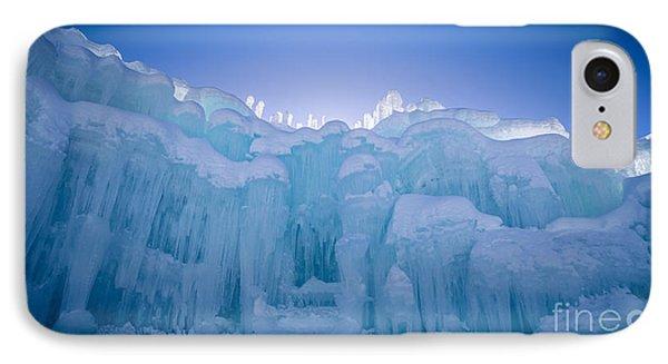 Loon iPhone 7 Case - Ice Castle by Edward Fielding
