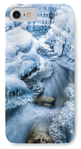 Ice Cathedral IPhone Case