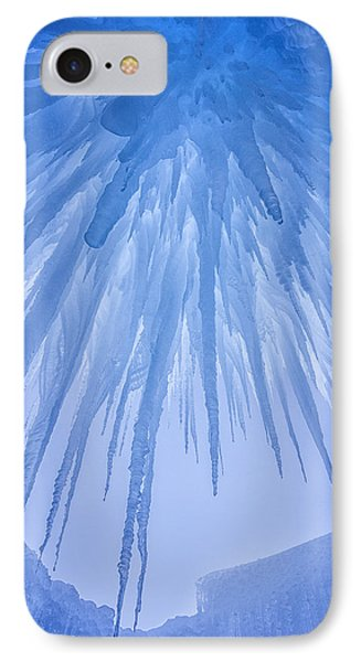 Ice Cave IPhone Case by Darren  White