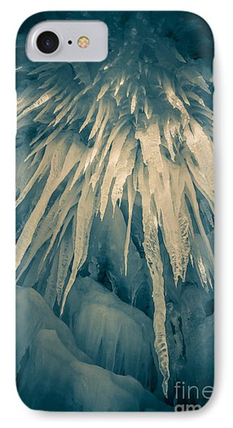 Loon iPhone 7 Case - Ice Cave by Edward Fielding