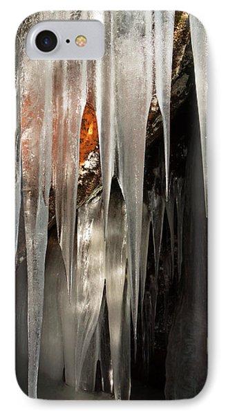 Ice Cave IPhone Case by Michele Cornelius