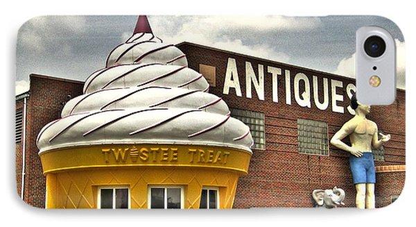 Ice Cream Phone Case by Jane Linders