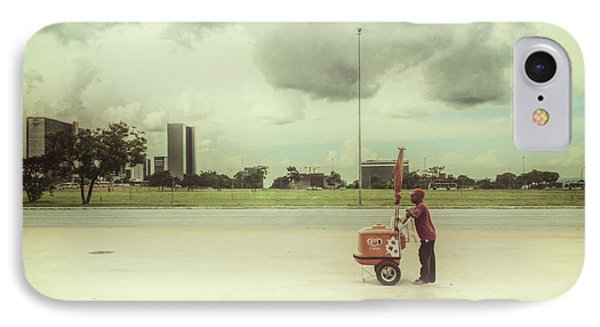 Ice Cream Man Phone Case by Santiago Tomas Gutiez
