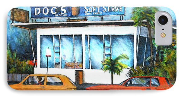 Ice Cream Restaurant In Delray Beach Fl IPhone Case