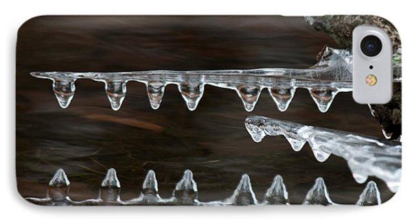 Ice Crocodiles IPhone Case by Lara Ellis